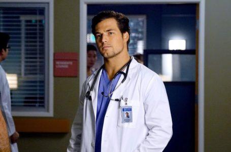 Grey's Anatomy, Giacomo Gianniotti per la prima volta dietro la macchina da presa