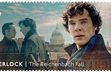 Sherlock: arrivano i francobolli con Benedict Cumberbatch e Martin Freeman
