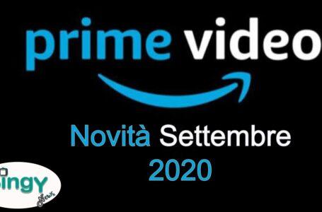 Amazon Prime Video: Le novità del mese di Settembre 2020