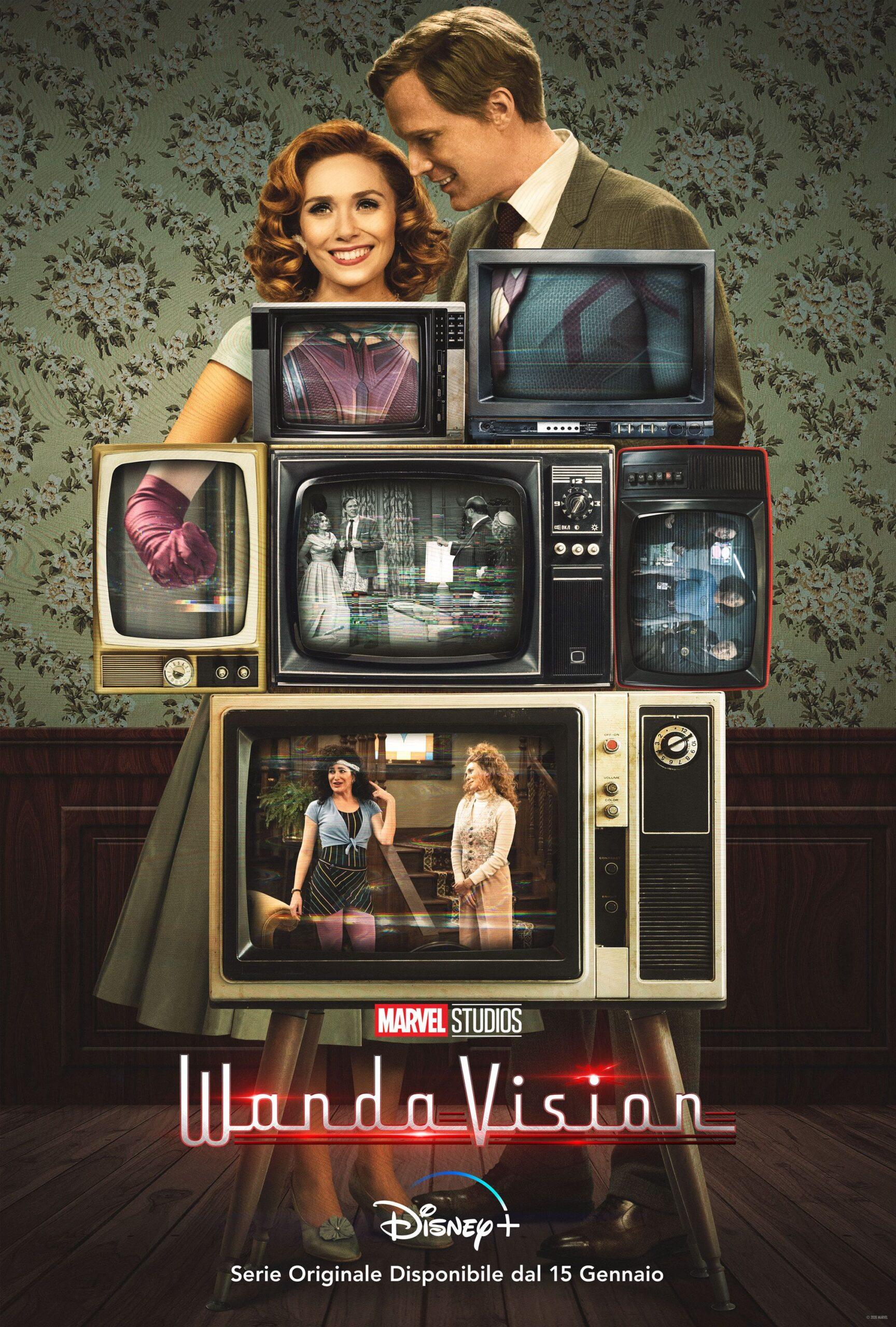 Wandavision: Disponibile da oggi su Disney+