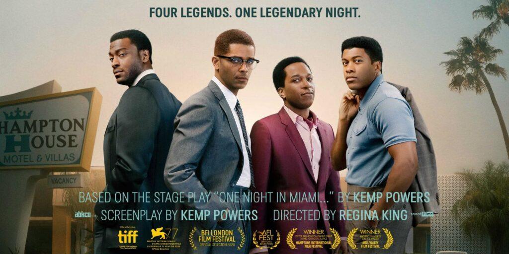 One Night in Miami: Disponibile da oggi su Amazon Prime Video