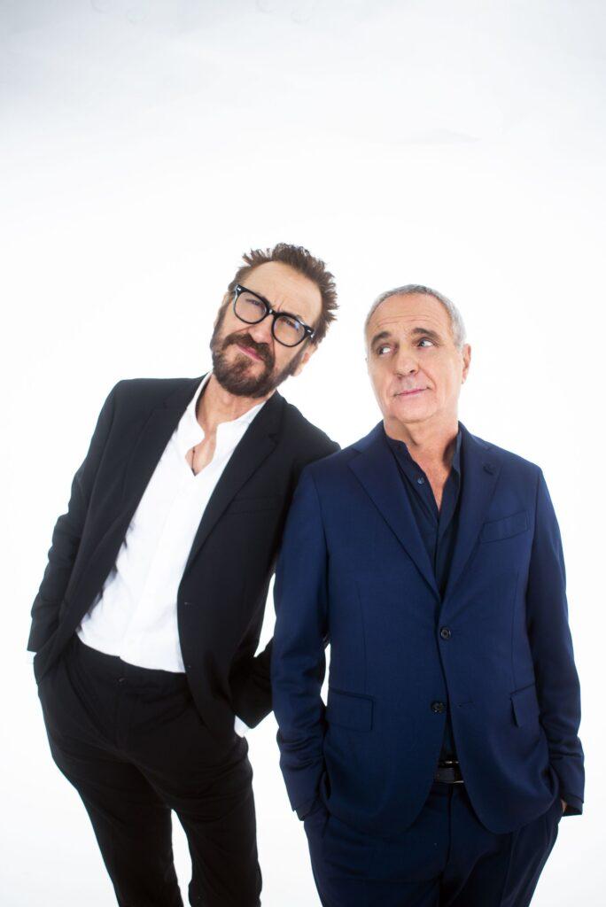 Lui è peggio di me: Da stasera il nuovo show con Giorgio Panariello e Marco Giallini