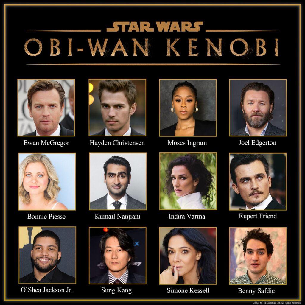 Obi-Wan Kenobi: Annunciato il cast della serie, torna Ewan McGregor