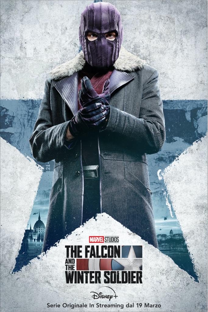 The Falcon and The Winter Soldier: Disponibili i nuovi character poster