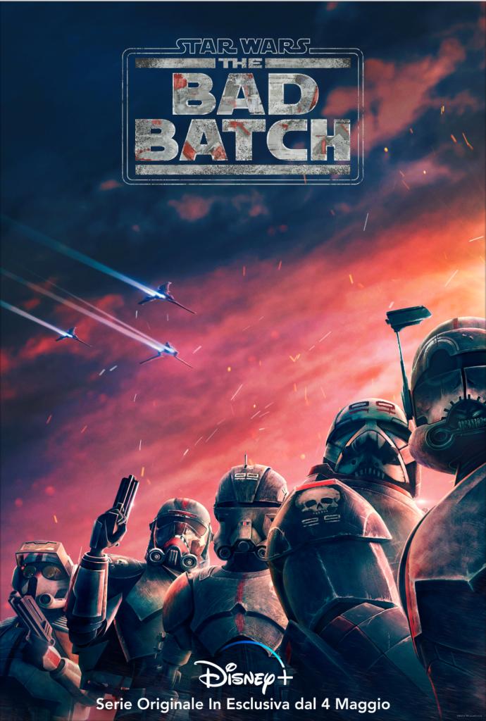 Star Wars: The Bad Batch, Disney+ rilascia un nuovo trailer ufficiale