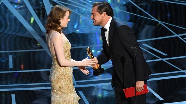 Emma Stone e Leonardo DiCaprio