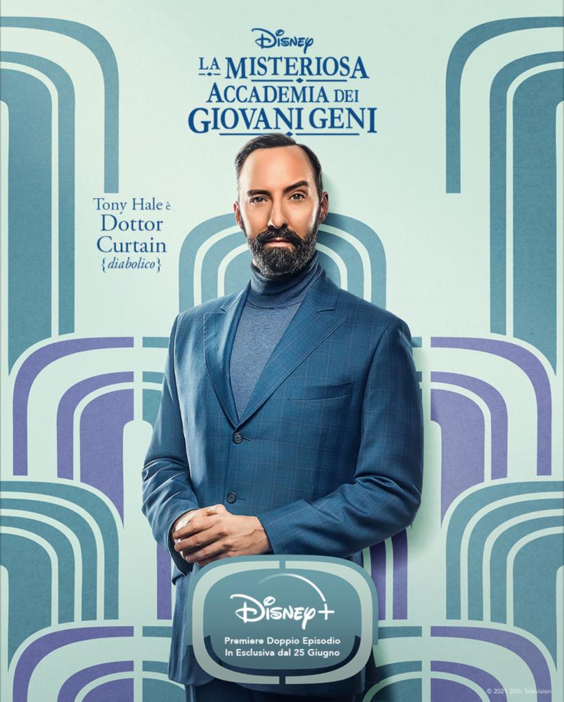 La Misteriosa Accademia dei Giovani Geni: Da domani su Disney+