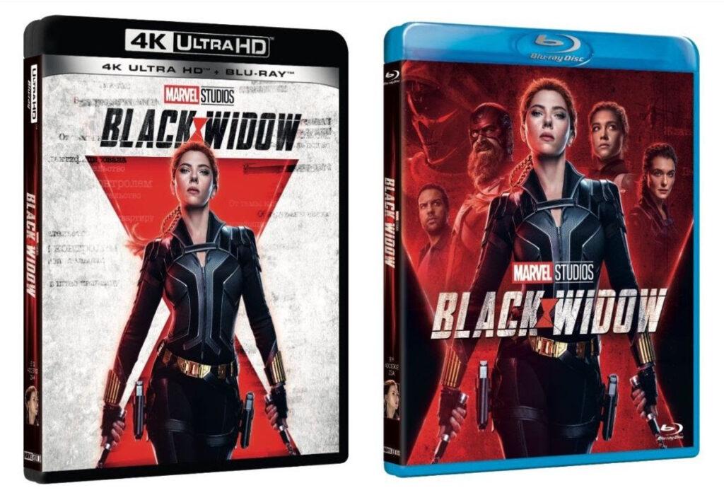 Black Widow: Da oggi disponibile in Blu-Ray, DVD e 4K UHD