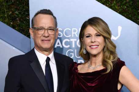 Coronavirus: Positivi Tom Hanks e Rita Wilson