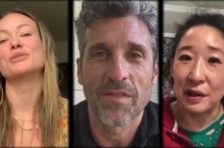 """Coronavirus, da Grey's Anatomy a House: il cast si riunisce per rendere omaggio ai """"veri eroi della sanità"""""""