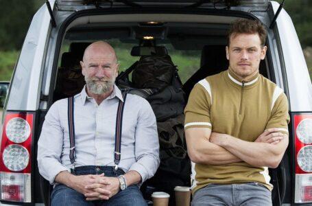 Sam Heughan e Graham McTavish protagonisti di Men in Kilts, la nuova docu-serie Starz