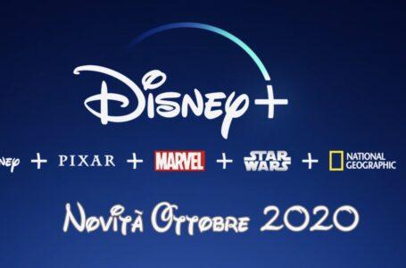 Disney+: Tutte le novità in catalogo di Ottobre 2020