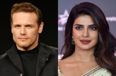 "Sam Heughan e Priyanka Chopra Jonas protagonisti del film ""Text For You"""