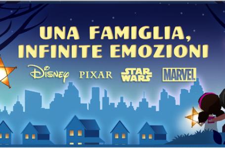 """""""Una famiglia, infinite emozioni"""": il nuovo cortometraggio Disney"""