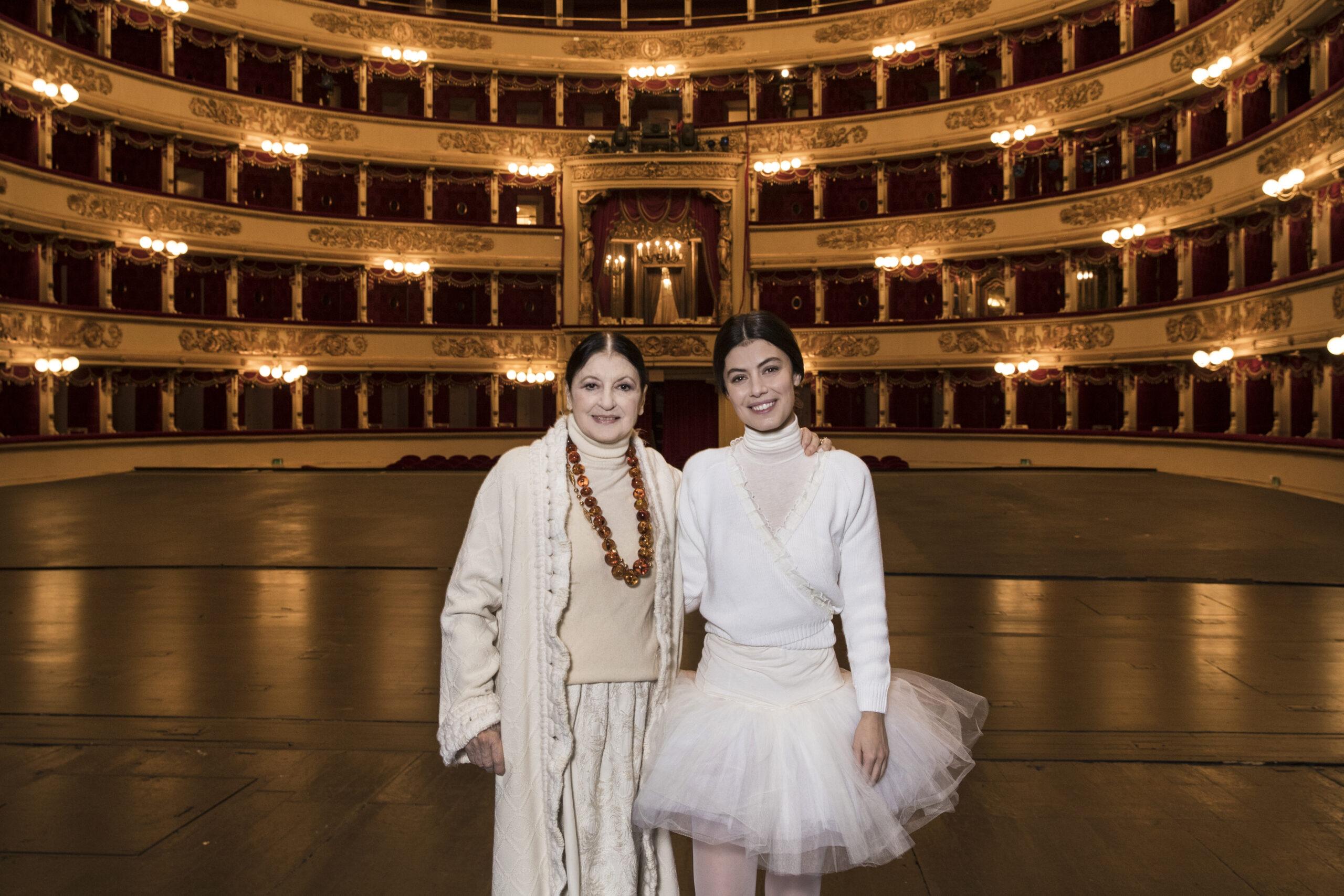 Carla Fracci: Il messaggio di Alessandra Mastronardi