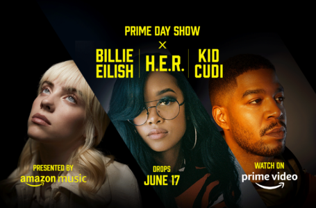 Prime Day Show: Billie Eilish,  H.E.R. e KID CUDI per celebrare il Prime Day
