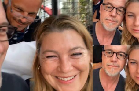 Grey's Anatomy: Ellen Pompeo, Eric Dane e Justin Chambers di nuovo insieme  – VIDEO